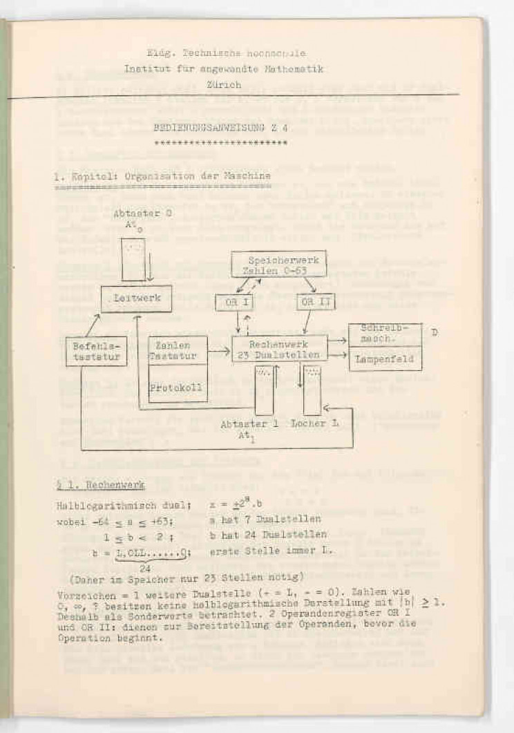 Oldest Preserved Computer's User Manual Discovered