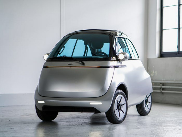 Swiss Company Designs Adorable Two-Seater Microlino Electric Car