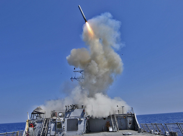U.S. Navy Tomahawk Missile Now Runs on Corn