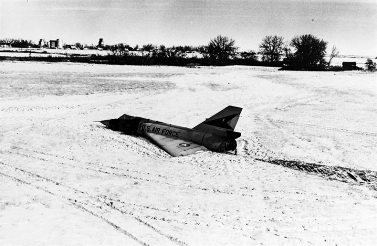 cornfield bomber in field