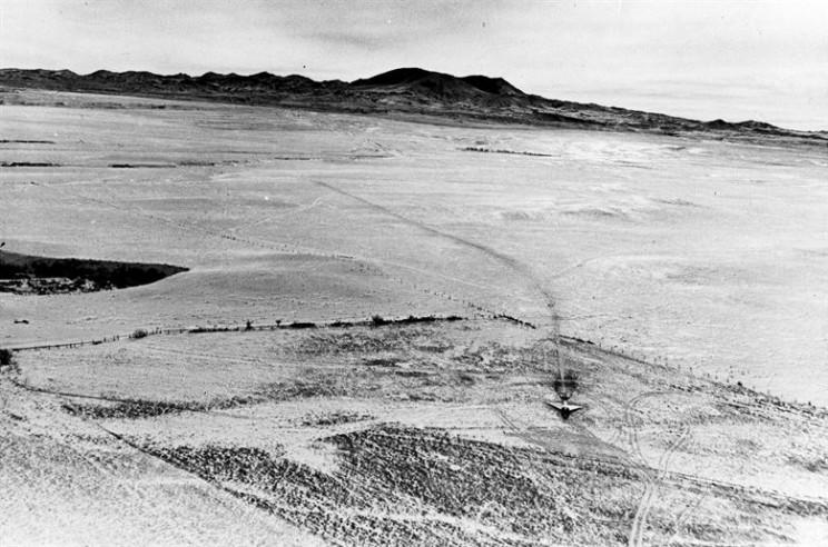 cornfield bomber field