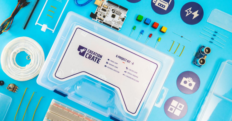 Learn Coding and Build Smart Electronics with Monthly STEM Kits