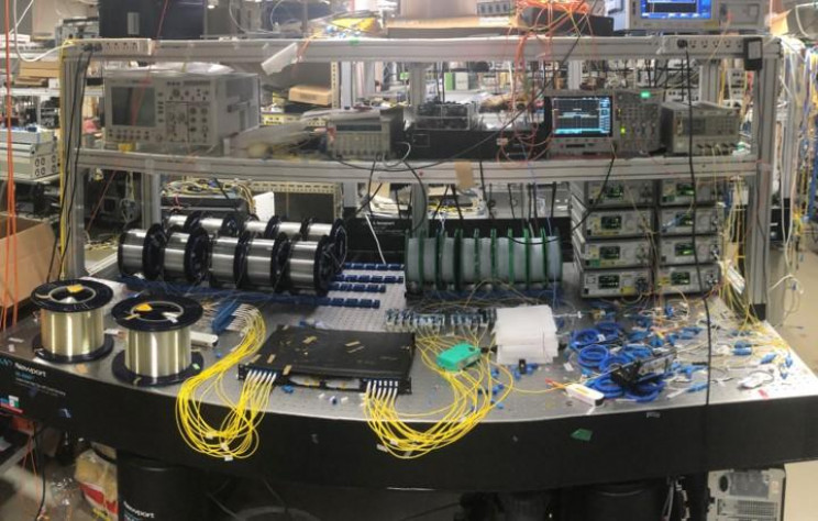 Institute Breaks Transmission World Record With 125,000 Gbps Using an Optical Fiber