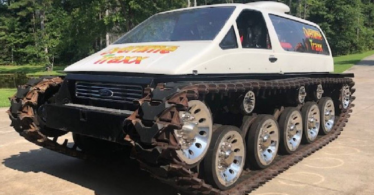 Mad Max-Style Dream Tank Now for Sale for $105,000