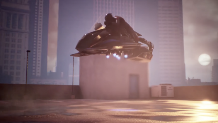 A Flying Motorcycle Prototype Completed Its First Flight Test