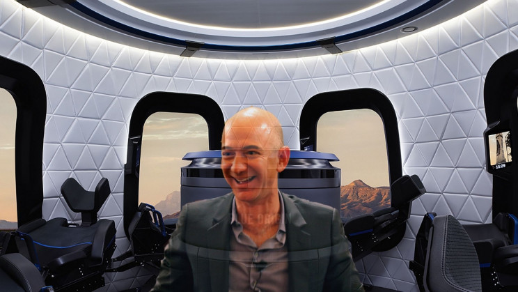 Sold! Mystery Bidder Pays $28 Mn to Spend 11 Minutes With Bezos in Space