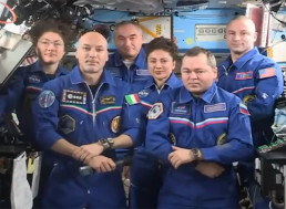 Live Broadcast of NASA: Record-Setting Astronaut Christina Koch and Crewmates Landing Back on Earth