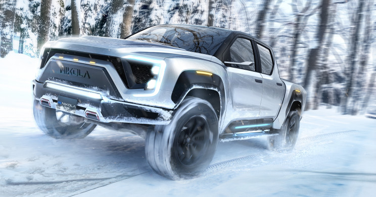 Nikola Motors Joins the Electric Pickup Truck Ranks with Its 600-Mile Range Vehicle