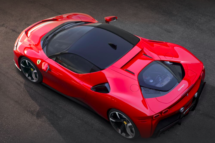 Details of Ferrari's Upcoming Electric Vehicle Leaked in Patent Filing