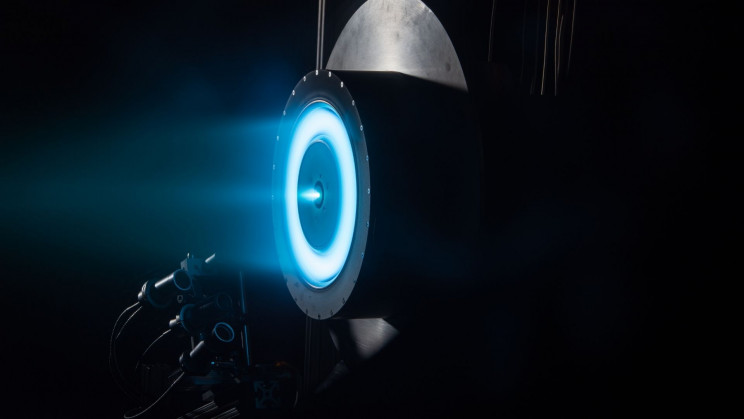 China's New Space Station Will Be Powered by Ion Propulsion System