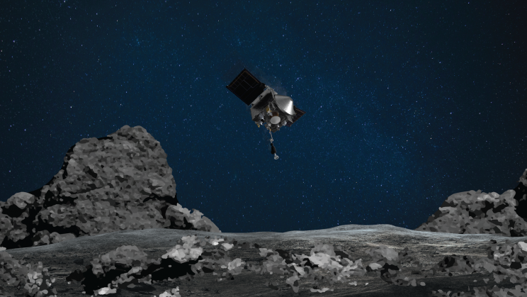 NASA Spacecraft Carrying Asteroid Sample Starts 2.5-Year Earthbound Journey