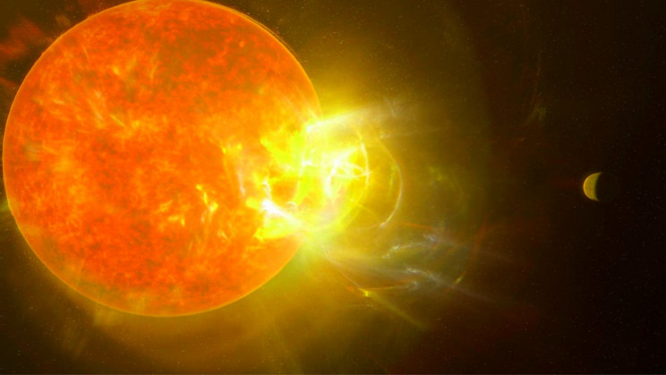 A Colossal Flare May Have Just Wiped Out Alien Life on Another Planet