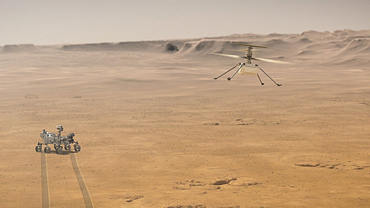 NASA's Ingenuity Helicopter Successfully Completes Its Third Flight