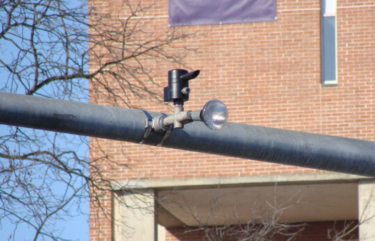 Opticom receiver and notifier in Millersville, Pennsylvania