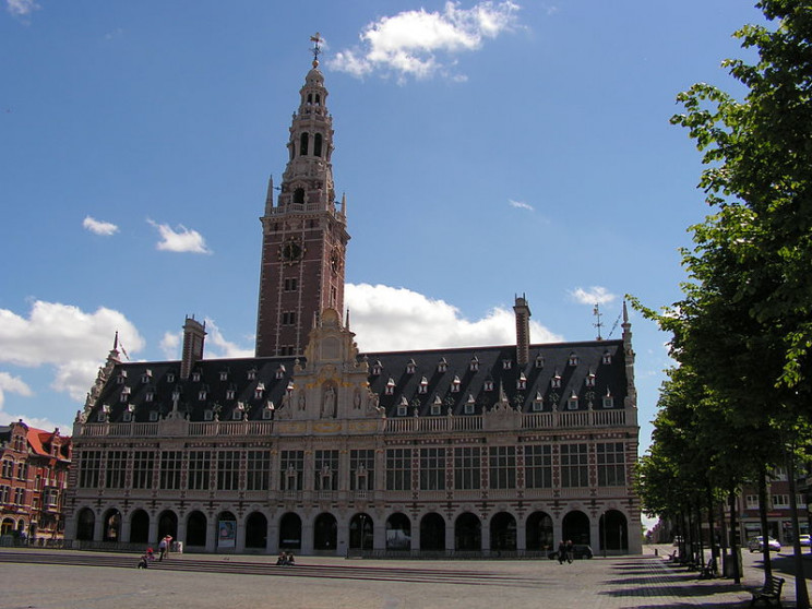 most beautiful university buildings belgium