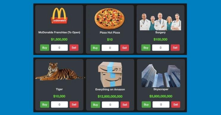 Spend Jeff Bezos' Money, Live Like a Billionaire on Fantasy Website