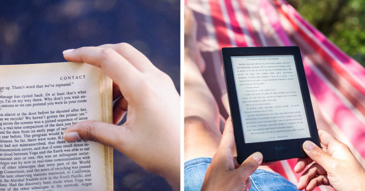Ebook, Audio, Or Paper Book? What's Best, According to Science