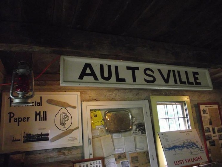 aultsville old sign