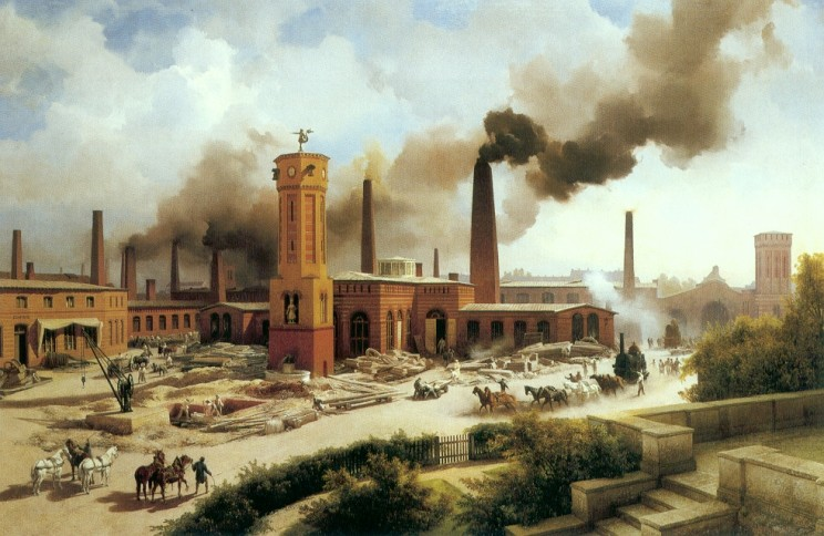 Borsig Train Factory in Berlin