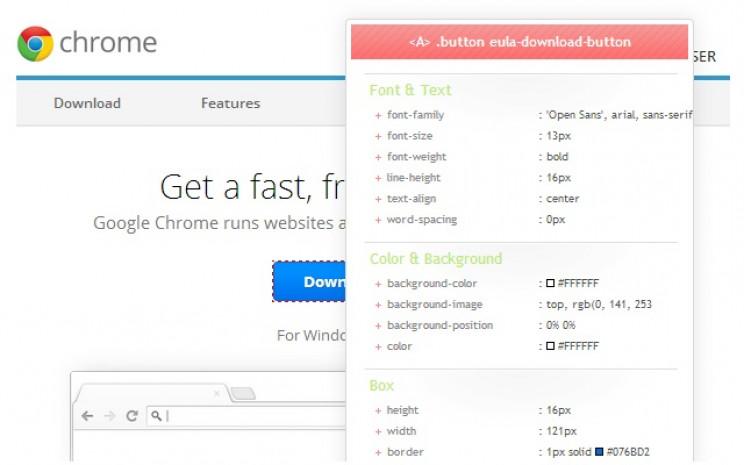 developer chrome extensions css