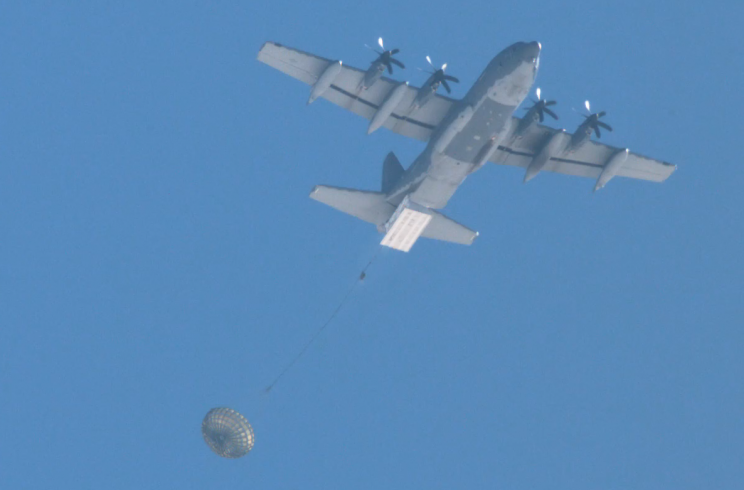 US Air Force Turns Cargo Planes into Bombers Using Pallets