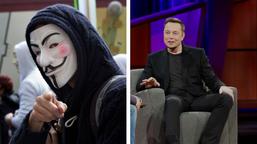 Anonymous Takes Aim at Elon Musk for 'Trying to Centralize Crypto'