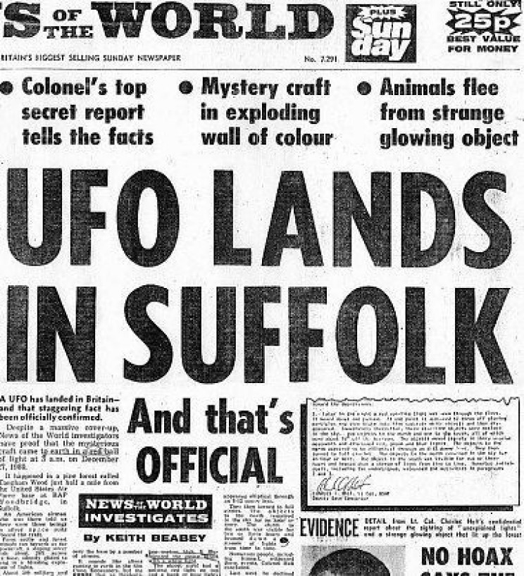 21 Facts About The Unresolved UFO Incident at Rendlesham Forest