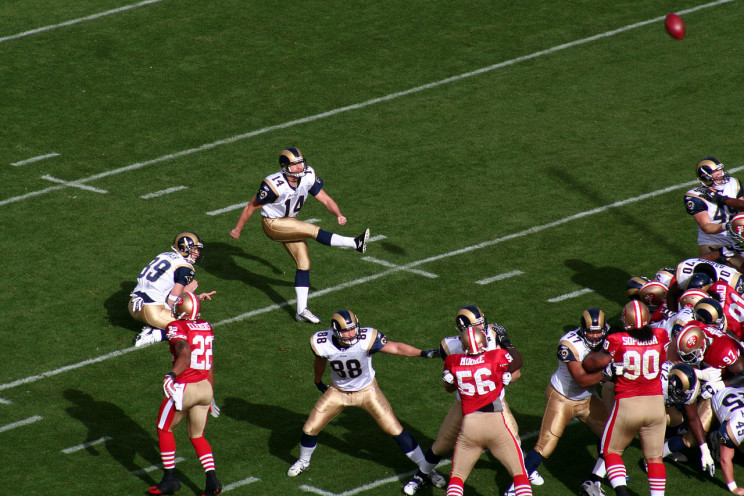 Player Attempting Kick