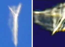 A 'Shape-Shifting UFO' Was Filmed Flying Near a Plane. Here Are the Facts