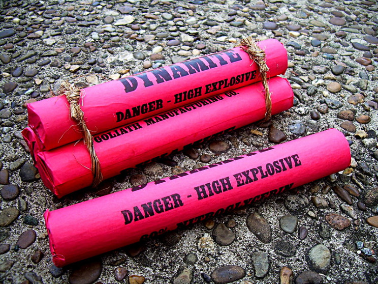 most potent explosives dynamite