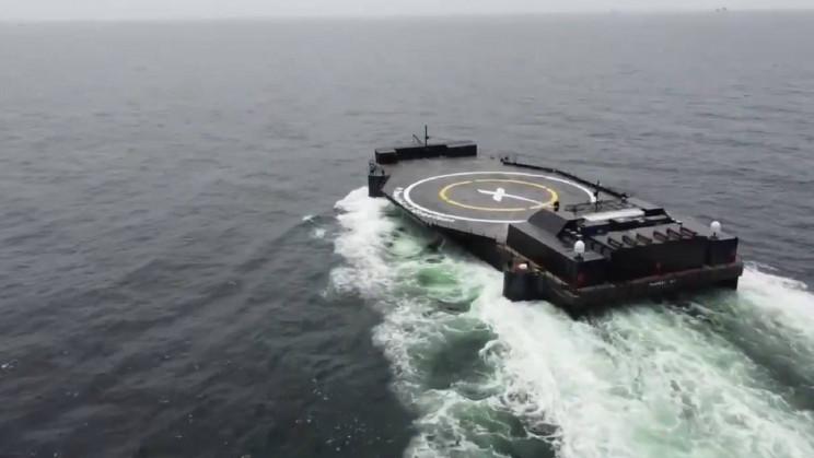 Resolving Bottlenecks: Elon Musk Showcases SpaceX's Latest Autonomous Droneship
