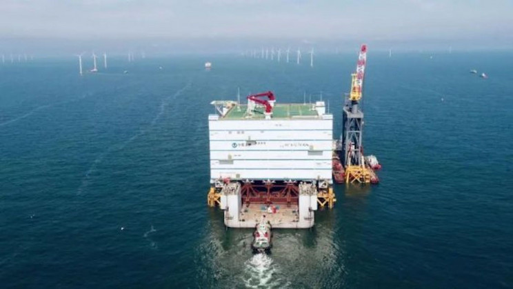 The World's Largest Offshore Converter Station Has Set Sail