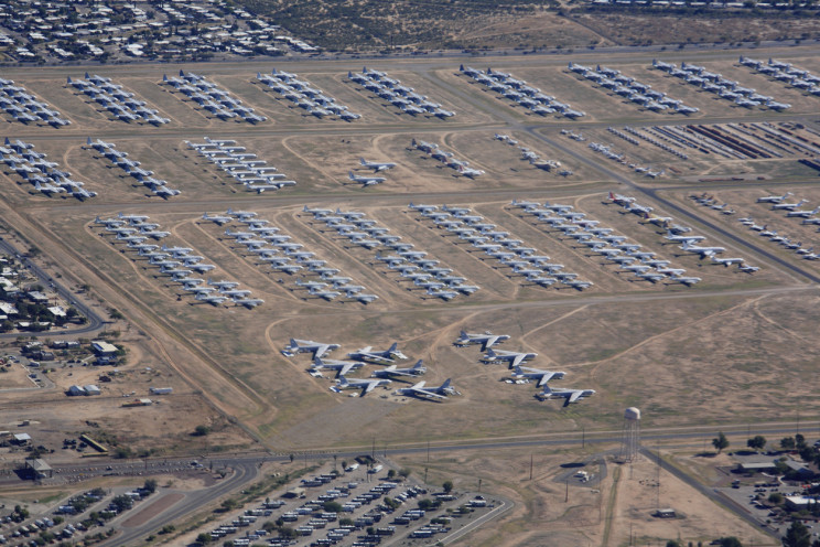 The World's Biggest 'Boneyard' Houses Almost 4,000 Aircraft