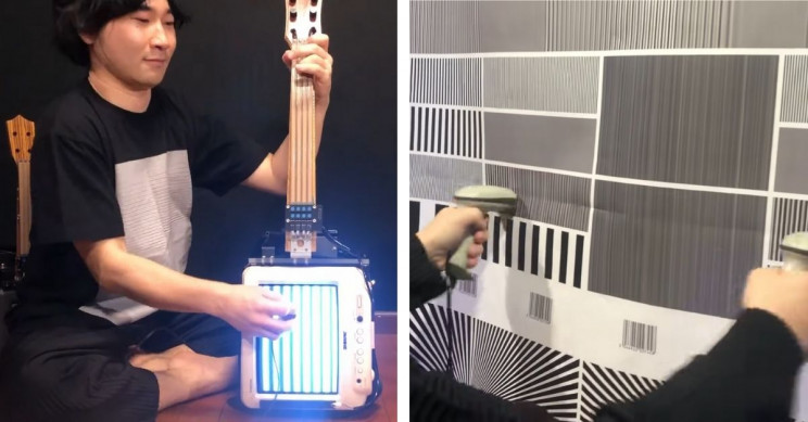 This Band Plays Barcode Scanner Synths and Cathode Ray TV Guitars