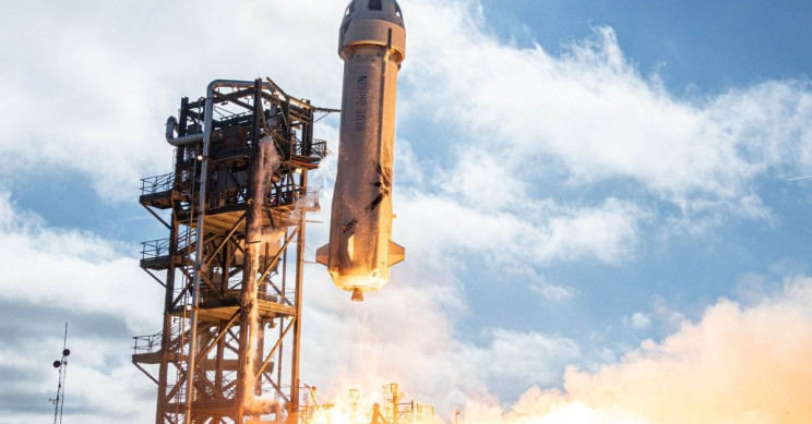 Blue Origin Aborts Reusable Rocket Launch With NASA Landing Systems Test