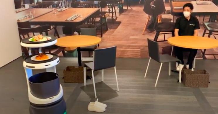 SoftBank Introduces Next-Gen Robot Waiters in Japan