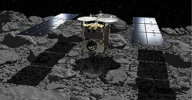 JAXA's Hayabusa2 Starts Its Long Journey Home, Returning with Asteroid Samples