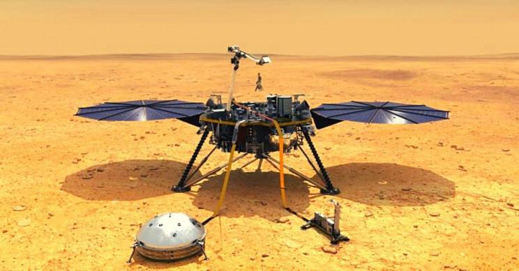 NASA's InSight Lander Takes First Peek Into 'Cake-Like' Interior of Mars