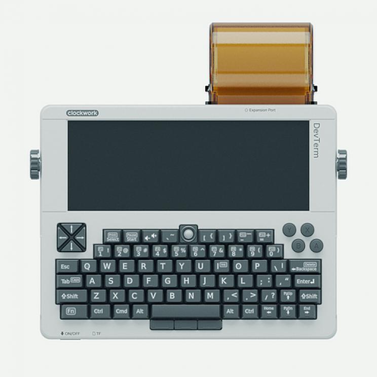 'DevTerm', A Retro Modular Raspberry Pi Terminal Unveiled