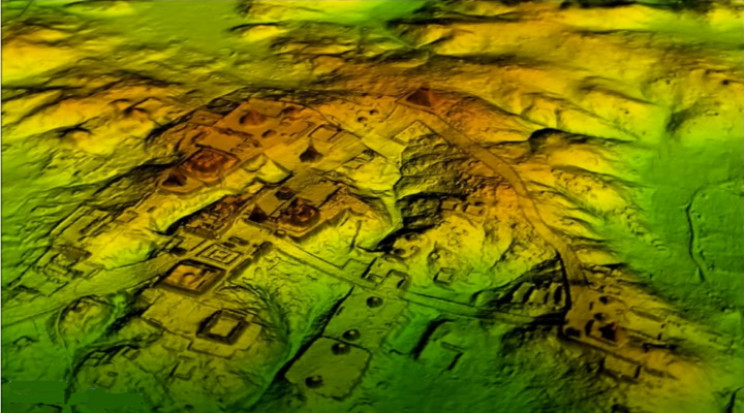 LiDAR peering through the forest canopy