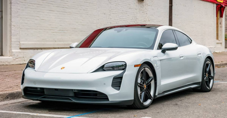 Porsche Taycan Beats Tesla Model 3 as Fastest EV at US Cross Country