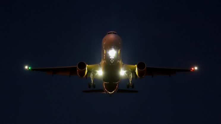 aircraft lights landing