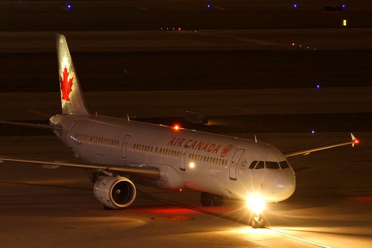 aircraft lights taxi