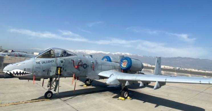 US Air Force Engineers Fixed a Battle-Damaged A-10 From Home