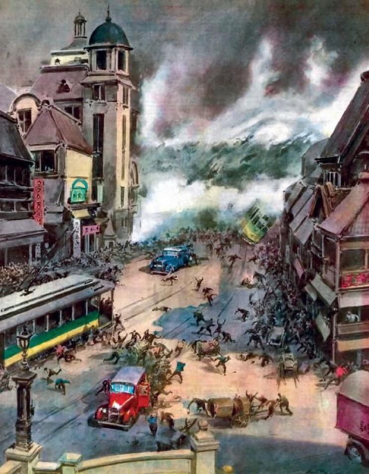 deadliest earthquakes kanto