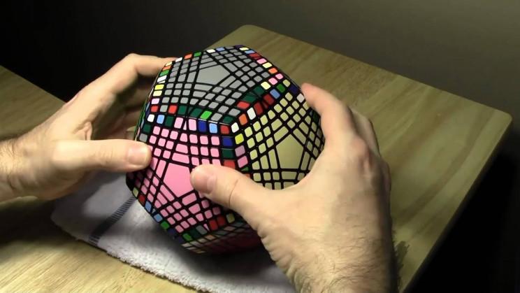 interesting rubik's cube pentamix