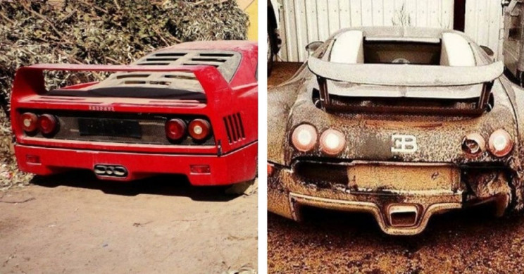 7 Super Expensive Cars Left to Rot