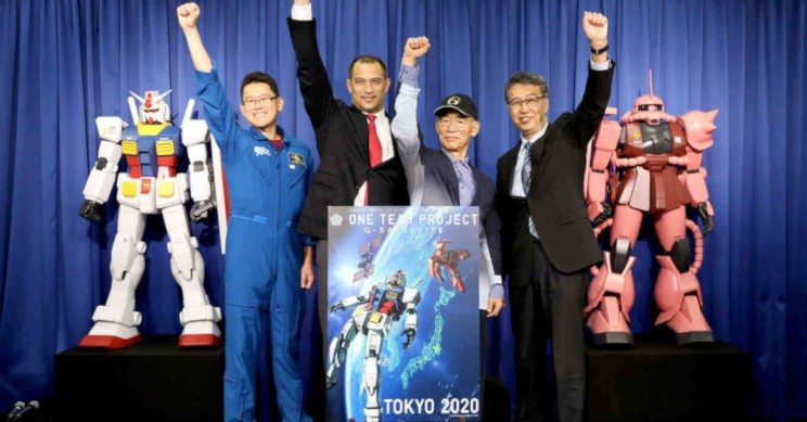 Tokyo 2020 Set to Launch Gundam Models into Space to Encourage Athletes