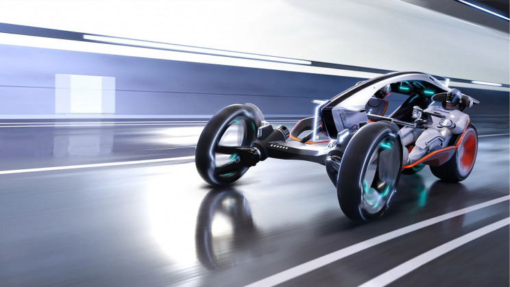A UK Company Revealed a New Electric Hybrid Car. But It's Also a Bike?