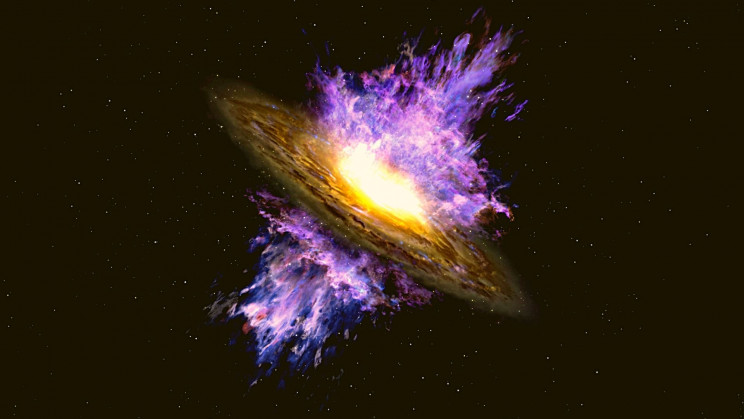 Immense Galactic Winds Discovered Shredding Entire Galaxies